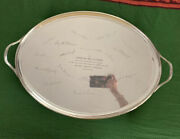Vintage And Co. Makers Sterling Silver Tray Platter Monogrammed