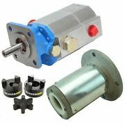 Log Splitter Hydraulic Kit, 16 Gpm Pump, Mount, Coupler For Speeco And Many Others