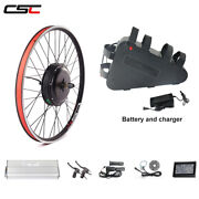 Ebike Kit 48v 1000w Mtb Electric E Bicycle Conversion And Triangle Battery 20ah