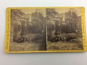 Antique Stereoview Yosemite Falls Merced River E.andh. T. Anthony Co N.y.