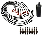 Ignition Wires 1 Coil 8 Spark Plugs Kit Acdelco For Checker Taxicab 5.7l 69-70