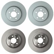 Front And Rear Disc Brake Rotors Kit Genuine For Bmw F12 F13 F06 640i Xdrive Gc