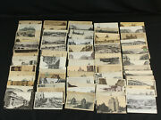 Lot 70+ Rare Antique Vintage Trolley Postcards Us And Ww Streetcars Trains Unused+