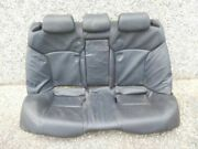 Lexus Is 250 Is250   2006-2011 Seat, Rear Black Leather B-boxes