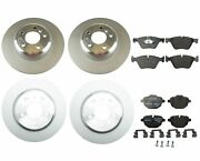 New Genuine Front And Rear Brake Kit Disc Rotors And Pads For Bmw F10 528i 2011 Base