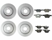 New Genuine Front And Rear Brake Kit Disc Rotors And Pads For Bmw E90 335xi 2007