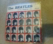 The Beatles 33 Rpm - Italy Pmcq 31504 A Hard Days Night Rare First Red Label