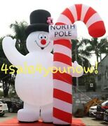 32and039 Foot Massive Inflatable Frosty The Snow Man Custom Made New
