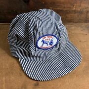Vintage Toy Town Usa East Conductors Hat Toy Train Hat Work Wear Trucker Hipster