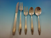 Formality By State House Sterling Silver Flatware Set For 12 Service 61 Pieces
