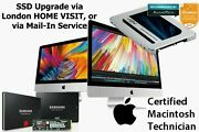 Imac Ssd Upgrade Any Size In Your Home Or Mail-in Speed Up Your Old Mac