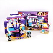 Lego Friends Rehearsal Stage Set 41004 Complete With Instruction Book No Box