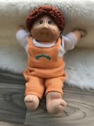 Cabbage Patch Kids Doll Boy Vintage 17andrdquo Body Tag Curly Brat Face 2