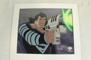 Superman Sericel -2007 Wb -comic Con - Doomsday -signed Bruce Timm -018/200 Htf