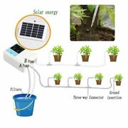 Automatic Plant Watering Device Solar Energy Charging Drip Irrigation Timer