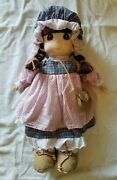 Rare Precious Moments Maggie Pdr Exclusive Limited 26 Tall Doll 1995 1606