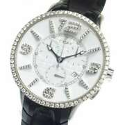 Free Shipping Pre-owned N.o.a Chronograph Diamond Bezel 16.75 Limited 250 Model