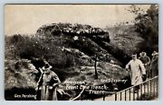 Lot Of 5 Vintage Postcard Chicago Daily News Postals Wwi Tanks Trench Marines A2