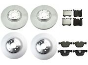 Genuine Front And Rear Brake Kit Disc Rotors And Pads For Bmw E70 E71 X5 X6 M