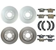 Genuine Front And Rear Brake Kit Disc Rotors Pads Shoes For Bmw F22 F23 F30 230i