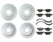 Genuine Front And Rear Brake Kit Disc Rotors Pads And Shoes For Bmw E90 E92 328xi