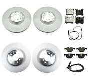 Genuine Front And Rear Brake Kit Disc Rotors Pads Sensors For Bmw E70 F15 E71 F16