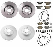 Genuine Front And Rear Brake Kit Disc Rotors Pads And Sensors For Bmw F25 F26 X3 X4