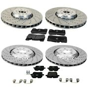 Genuine Front And Rear Brake Kit Disc Rotors And Pads For Bmw F90 M5 2018-2020