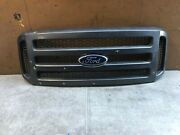 2005 2006 2007 Ford F250 F350 Super Duty Front Grille Grill Oem 5c34-8200-bdw