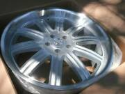 22 Huntington Engineer Alloy Staggered Wheel Set 22x10.5 And 22x11 5x120 5x4.75