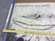 Vintage Woodrow Wilson High School In L. A . Poster Architect Paul R. Williams