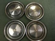 1974-78 Cadillac Deville Fleetwood 15 Wheel Covers Hubcaps Set Of 4