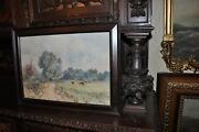 Antique Watercolor By Listed Artist W. Galloway