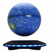 Magnetic Levitation Floating Globe 6and039and039 Maglev Globes Anti Gravity Rotating Map