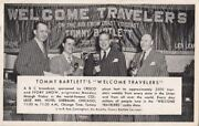 Postcard Tommy Bartlett's Travelers Party College Inn Hotel Sherman Chicago Il