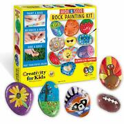 Creativity For Kids Hide And Seek Rock Painting Kit - Arts And Crafts For Kids