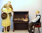 Norman Rockwell Figurines Possible Dreams Clothtique Lifestyles Collection
