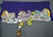 Nwot Disney Store The Seven Dwarfs Terry Cloth Like Embroidered Sweatshirt S