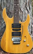 Custom Electric Guitar With Floyd Rose Tremolo Locking Tuners And Case-free Ship