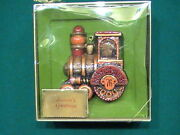 Hallmark Yesteryears Train 1976 New In Box Ornament Christmas Tree Trimmer Mint
