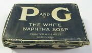 New Nos Vintage P And G Soap Bar Proctor And Gamble Unopened White Naphtha Clothes