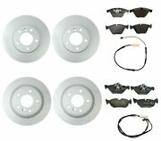 Genuine Front And Rear Brake Kit Disc Rotors Pads And Sensors For Bmw E90 E92 328i