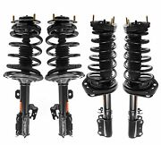 Monroe Quick-strut Front And Rear Strut Coil Spring Kit For Toyota Camry Base Xle