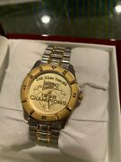 1998 San Diego Padres N.l. Championship Employee Awarded Watch +box Petco