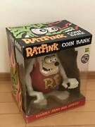 Rat Fink Coin Bank Glow In The Dark Ed Ross Funko Figure Character Goods Toy