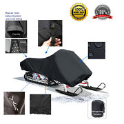 Deluxe Yamaha Rs Venture Gt Tf Touring Storage Snowmobile Sled Storage Cover