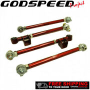 Godspeed Project Adjustable Rear Lateral Link Set For Subaru Legacy Awd 90-99