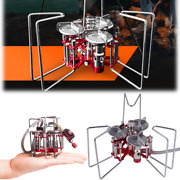 Portable Outdoor Camping Folding Gas Stove Cooking 3 Burner Powerful 5800w 298g