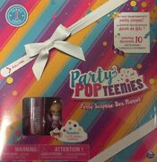 Party Popteenies Party Surprise Box Playset Series 1 Lot Of 5