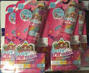 Party Popteenies Double Surprise Popper Series 1 Glitter Edition Doll Lot Of 5